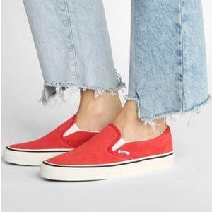 VANS Classic Slip On Sneakers SZ 7.5  NEW